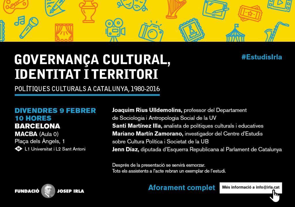 cultura, governança cultural, identitat