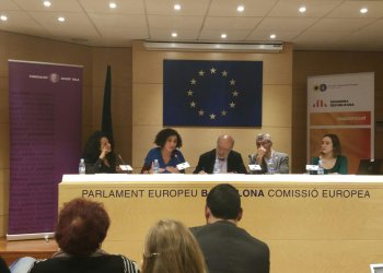 Imatge de l'acte 'Les migracions a Europa i Catalunya: reptes i propostes'