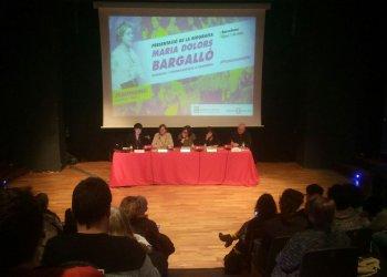 Imatge de la presentació de la biografia de Maria Dolors Bargalló