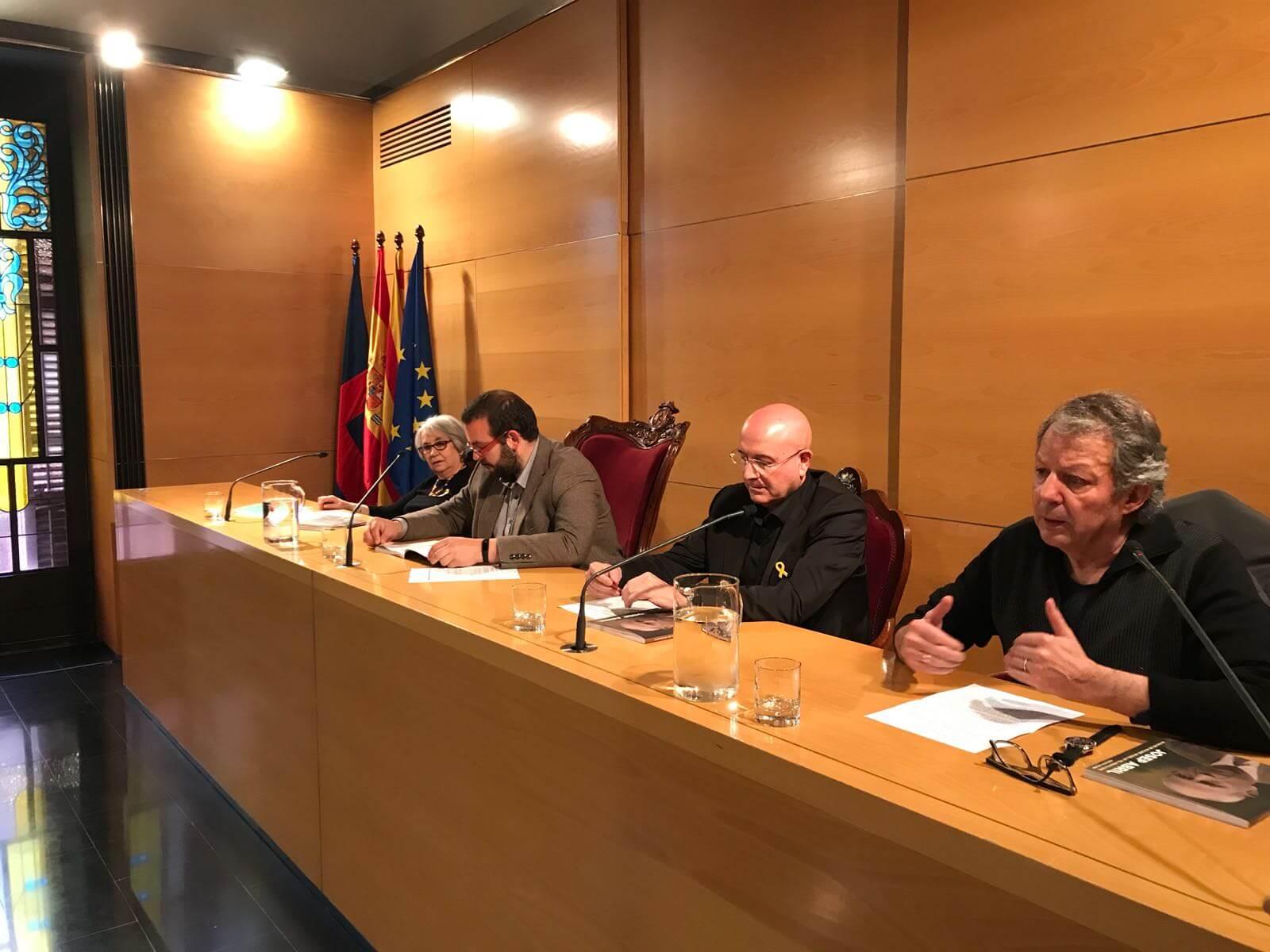 Margarida Colomer, David Bote, Joan Manuel Tresserras i Pelai Pagès