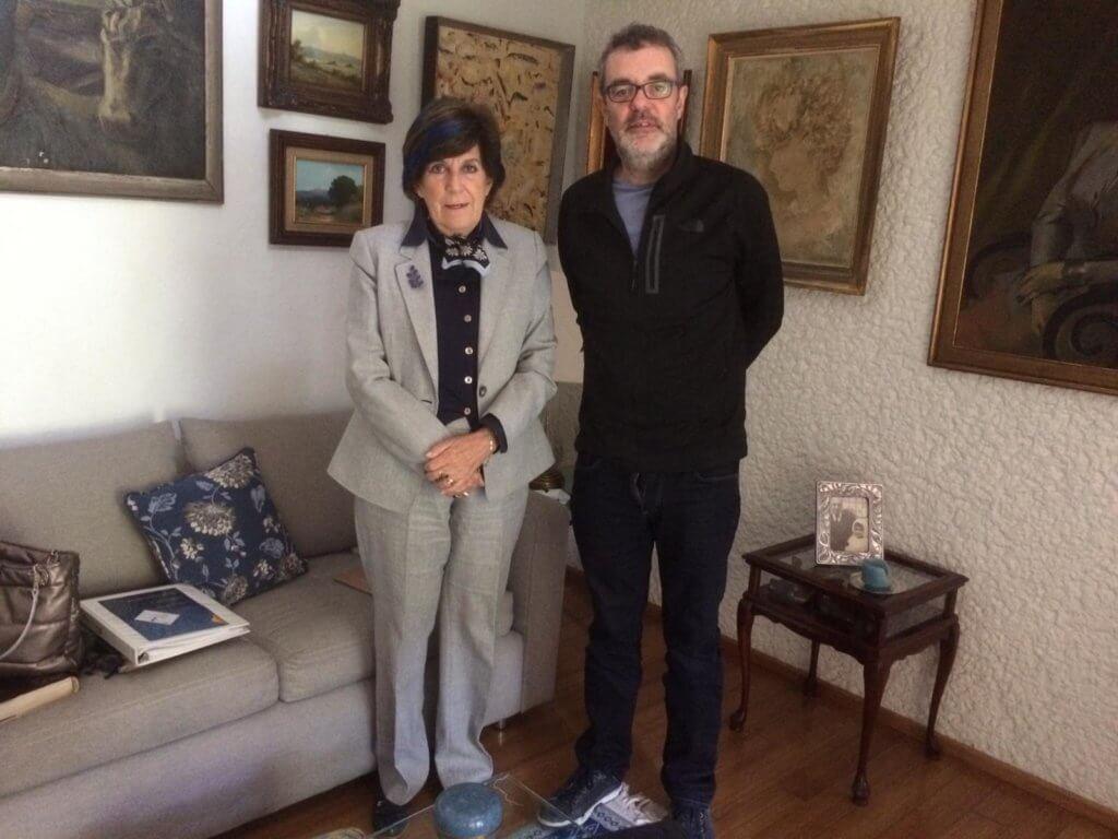 Neta de Jaume Serra i Húnter, rector de la Unviersitat de Barcelona