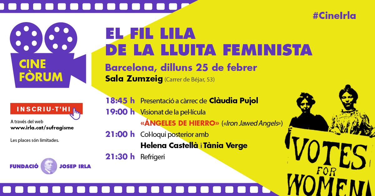 Cinefòrum centrat en la lluita feminista