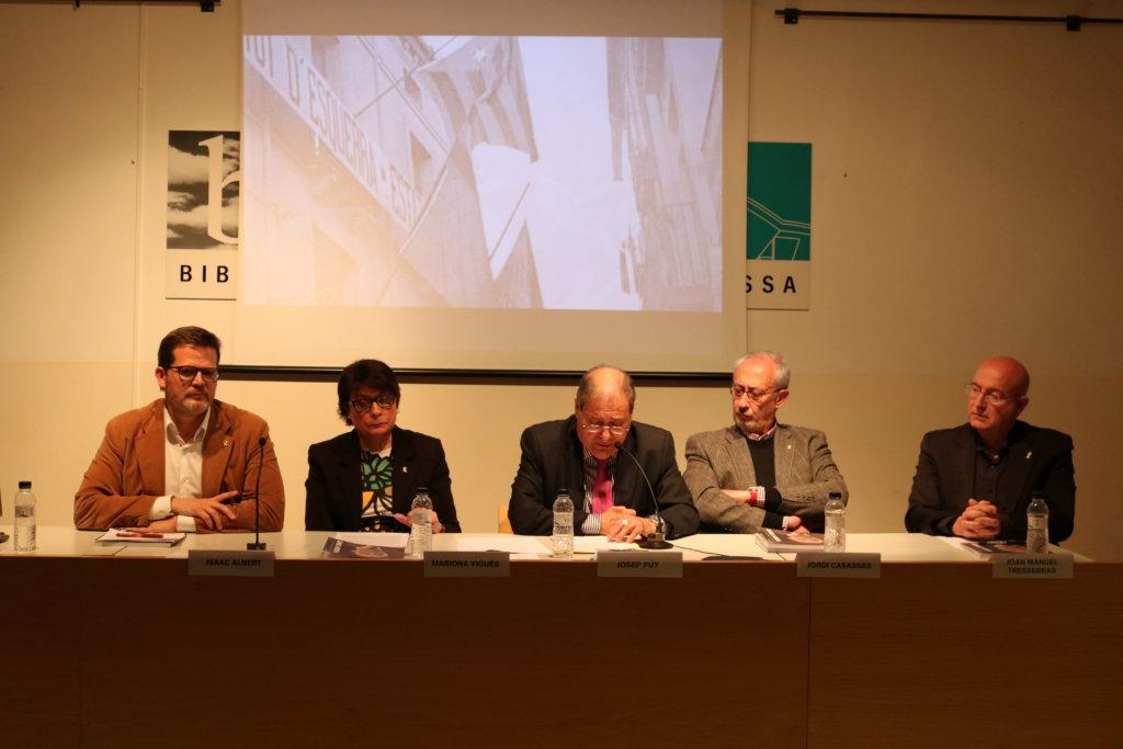 Autor de la biografia de Samuel Morera, alcalde repubicà de Terrassa