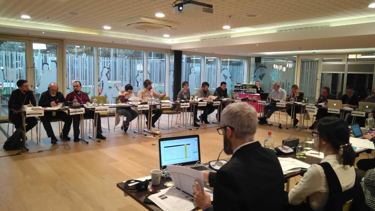Reunió amb els representats de les Fundacions Coppieters
