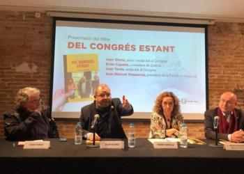 Llibre de l'exdiputat Joan Olòriz