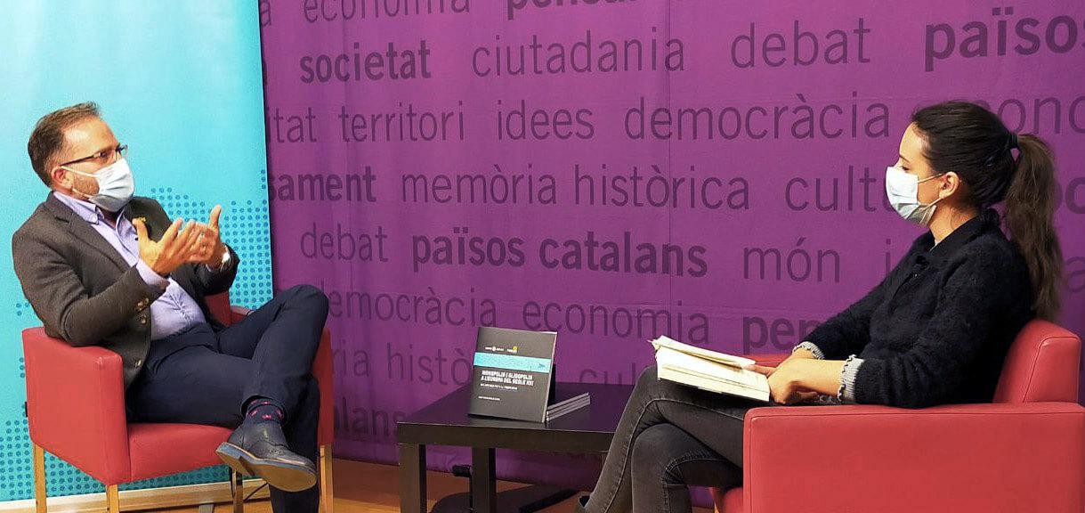 conversa entre Arauzo-Carod i Paula Clemente