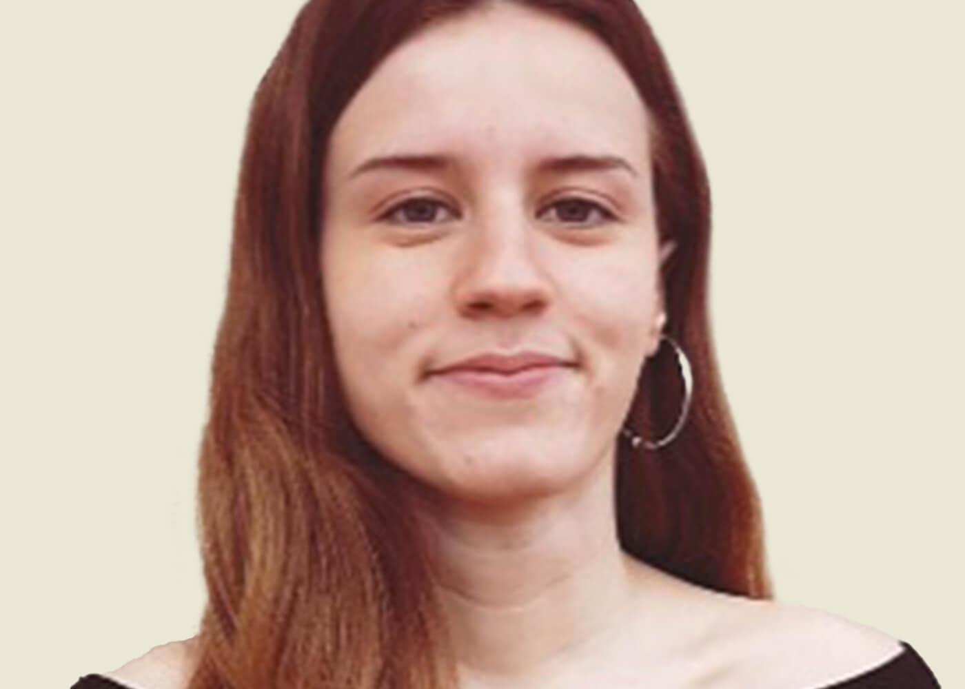 Laia Benaiges, guanyadora del Premi Irla Batxillerat 2021